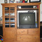 Solid-wood-entertainment-center